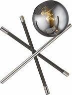 Trend TT80050PN Trend Home Contemporary Polished Nickel Side Table Lamp
