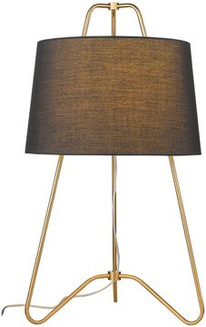Trend TT80076GD Lamia Contemporary Gold Table Top Lamp
