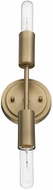 Trend TW40020AB Perret Contemporary Aged Brass Wall Light Fixture