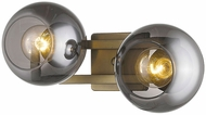 Trend TW40037AB Lunette Contemporary Aged Brass Bathroom Lighting