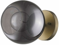 Trend TW40039AB Lunette Modern Aged Brass Wall Sconce Lighting