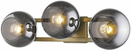 Trend TW40040AB Lunette Contemporary Aged Brass Bath Lighting