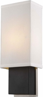 Trend TW6600 Finestra Modern Espresso and Polished Chrome Sconce Lighting