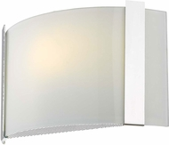 Trend TW7583 Apollo Contemporary Polished Chrome Light Sconce