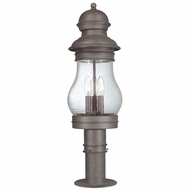 Troy 1886HPB Hyannis Port Large Outdoor Nautical Post Lantern