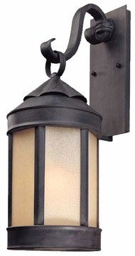 Troy B1463AI Anderson's Forge Outdoor Wall Lantern - 9 inches wide