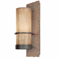 Troy B1851BB Bamboo Medium Outdoor Rustic Wall Sconce