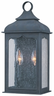 Troy B2011CI Henry Street Small 2 Candle 18 Inch Tall Wall Lamp - Colonial Iron