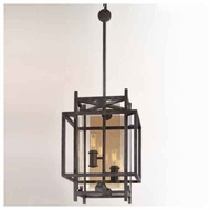 Troy B2492FI Crosby 2-light Wrought Iron Mini Pendant Light