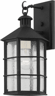 Troy B2511-FRN Lake County Traditional French Iron Outdoor Wall Sconce Light