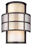 Troy B2733 Discus Large 18 Inch Tall Graphite Contemporary Wall Light Fixture