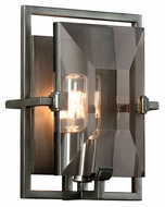 Troy B2822 Prism Graphite Finish 9 Tall Wall Sconce Lighting