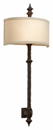 Troy B2912 Umbria 2-light Tall Bronze Wall Sconce