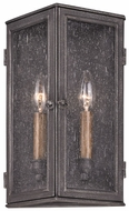 Troy B3202 Bermuda 13 Inch Tall Traditional Medium 2 Candle Lighting Sconce