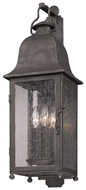 Troy B3212 Larchmont Medium 25 Inch Tall Aged Pewter Exterior Wall Sconce