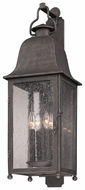 Troy B3213 Larchmont Large 31 Inch Tall 4 Light Outdoor Wall Lighting - Aged Pewter