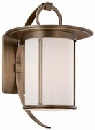 Troy B3243 Wright Large 16 Inch Tall Brass Outdoor Wall Lighting - Transitional