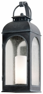 Troy B3283 Derby Large 29 Inch Tall Traditional Antique Iron Outdoor Lantern Wall Lighting