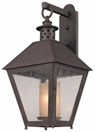 Troy B3294 Sagamore Large Wall Mounted Rust Finish Outdoor Wall Light