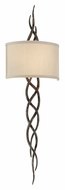 Troy B3462 Tattoo Contemporary 36 Inch Tall Cottage Bronze Wall Sconce Lighting
