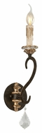 Troy B3511 Bordeaux Parisian Bronze Finish 18 Inch Tall Candle Sconce Lighting