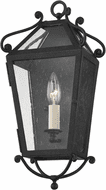 Troy B4121-FRN Santa Barbara County Traditional French Iron Outdoor Wall Lighting Sconce