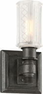 Troy B4231 Vault Wrought Iron Aged Pewter Lamp Sconce