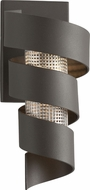 Troy B4261 Vortex Contemporary Bronze With Painted Galvanized LED Wall Sconce Lighting