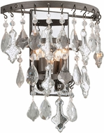 Troy B4312 Meritage Hand Worked Wrought Iron Light Sconce