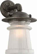 Troy B4353 Pearl Street Vintage Solid Aluminum Outdoor Lighting Wall Sconce