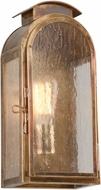 Troy B4401HBZ Copley Square Traditional Solid Brass Outdoor Wall Light Sconce