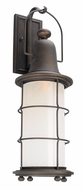 Troy B4443 Maritime Hand Worked Iron Outdoor Wall Sconce Lighting
