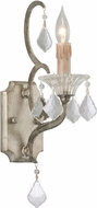 Troy B4571 Montparnasse Hand Worked Wrought Iron Lamp Sconce