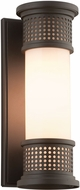 Troy B4671 McQueen Solid Aluminum Outdoor Wall Sconce Light