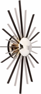 Troy B4801 Atomic Contemporary Solid Brass and Aluminum LED Wall Light Sconce