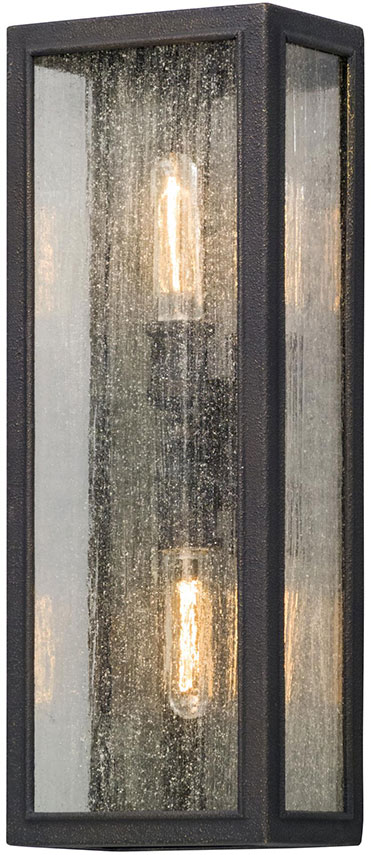 Troy B5103 Dixon Vintage Bronze Exterior Large Lighting Wall Sconce. Loading zoom & Troy B5103 Dixon Vintage Bronze Exterior Large Lighting Wall Sconce ...