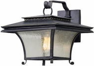 Troy B5142 Grammercy Asian Forged Iron Outdoor Medium Wall Lighting Fixture
