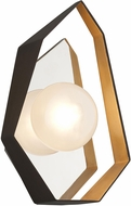 Troy B5521 Origami Modern Bronze With Gold Leaf LED Lamp Sconce
