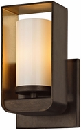 Troy B5701 Escape Contemporary Bronze w/ Gold Leaf Accent LED Wall Lighting