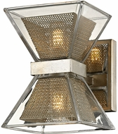 Troy B5811 Expression Contemporary Silver Leaf LED Light Sconce
