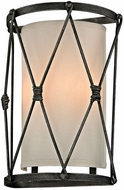 Troy B5942 Palisade Contemporary Aged Pewter Wall Sconce Light