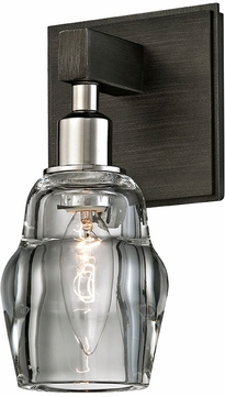 Troy B6001 Citizen Modern Graphite And Polished Nickel Wall Lighting