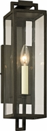 Troy B6381 Beckham Contemporary Forged Iron Exterior 5  Wall Sconce