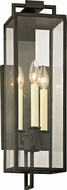 Troy B6382 Beckham Modern Forged Iron Outdoor 6  Wall Lamp