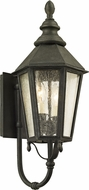 Troy B6432 Savannah Vintage Iron Outdoor 9.5  Wall Light Sconce