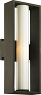 Troy B6492 Mondrian Modern Bronze Outdoor 18  Wall Sconce Light