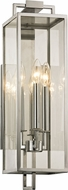 Troy B6532 Beckham Modern Stainless Outdoor 21.5  Wall Sconce Lighting