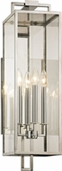 Troy B6533 Beckham Contemporary Stainless Exterior 28.5  Wall Mounted Lamp