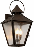 Troy B6583NR Allston Brass Chemical Outdoor 13  Wall Sconce Lighting