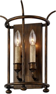 Troy B6641 Paso Robles Pompeii Bronze Light Sconce